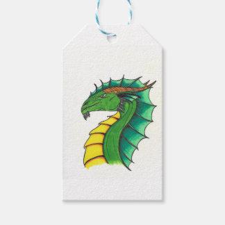 Hand drawn Dragon Gift Tags