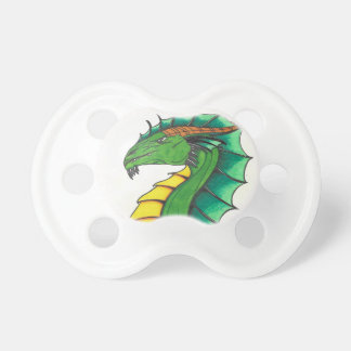 Hand drawn Dragon Pacifier