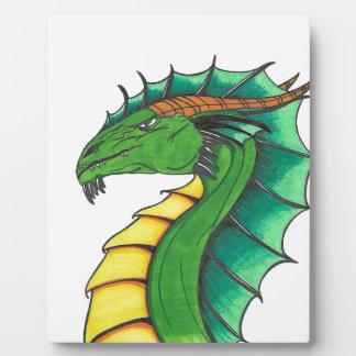Hand drawn Dragon Plaque