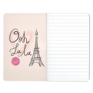 Hand Drawn Eiffel Tower Journal