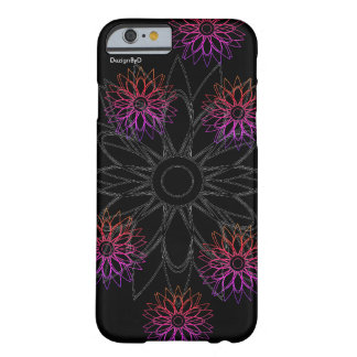 hand drawn flower barely there iPhone 6 case