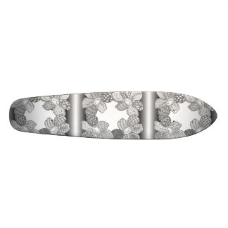 Hand Drawn Flower Lei Choose Any Color Custom Skate Board