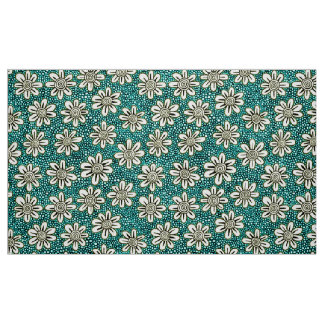 Hand Drawn Flower Pattern 140617 - Colors 01 Fabric