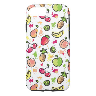 hand drawn fruits pattern iPhone 7 case