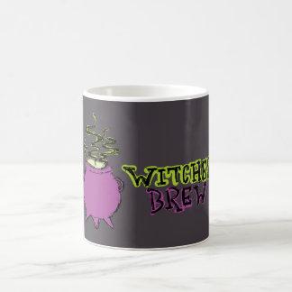 Hand-drawn & Fun Witches Brew Dark Mug