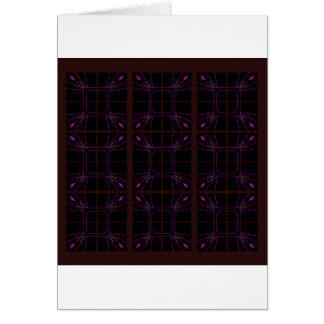 Hand drawn Geometric patterns Arabic Card