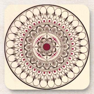 Hand Drawn Mandala Coasters