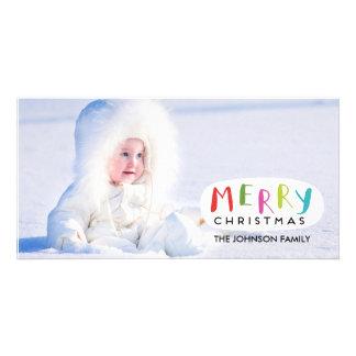 Hand Drawn - Merry Christmas Photo Card