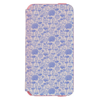 Hand Drawn Mushrooms Collage Incipio Watson™ iPhone 6 Wallet Case