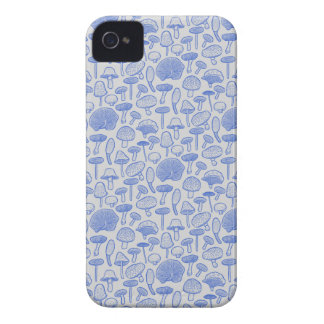 Hand Drawn Mushrooms Collage iPhone 4 Case-Mate Cases