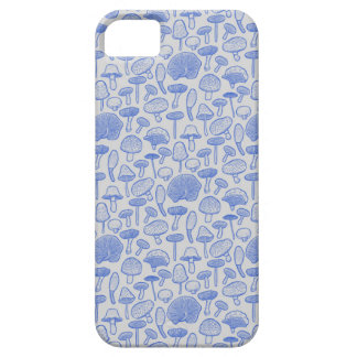 Hand Drawn Mushrooms Collage iPhone 5 Case