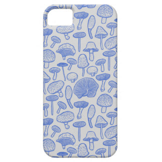 Hand Drawn Mushrooms Collage iPhone 5 Covers