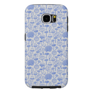 Hand Drawn Mushrooms Collage Samsung Galaxy S6 Cases
