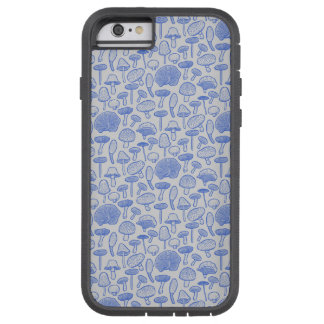 Hand Drawn Mushrooms Collage Tough Xtreme iPhone 6 Case