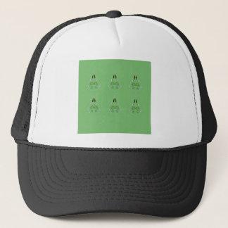 HAND DRAWN Paisley Green. Original art Trucker Hat