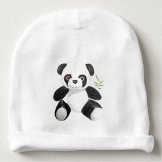 Hand-drawn Panda Plush Baby Beanie