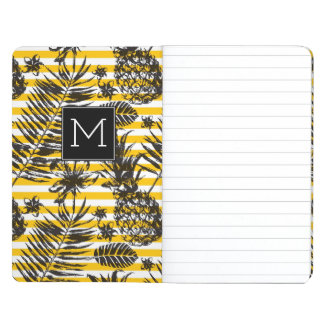 Hand Drawn Pineapples | Monogram Journal