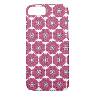 Hand-Drawn Retro Mandala Tribal Mosaic Tile Case