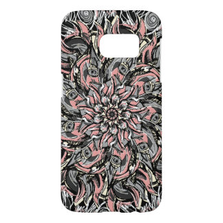 Hand-drawn rose pattern samsung galaxy s7 case