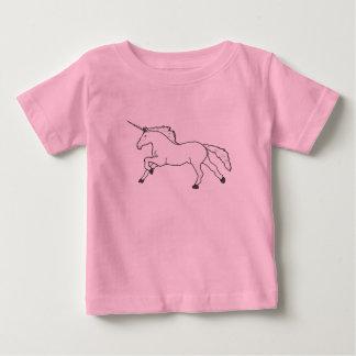 Hand Drawn Unicorn Baby T-Shirt