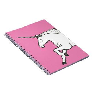 Hand Drawn Unicorn Spiral Notebooks