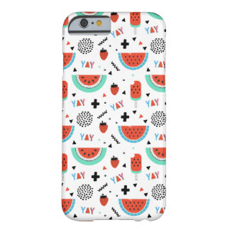 Hand Drawn Watermelon Summer Barely There iPhone 6 Case