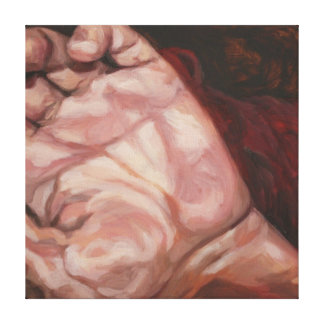 Hand, from Brokenness series Canvas Print