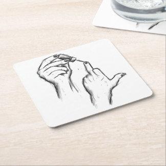 Hand Gesture coaster