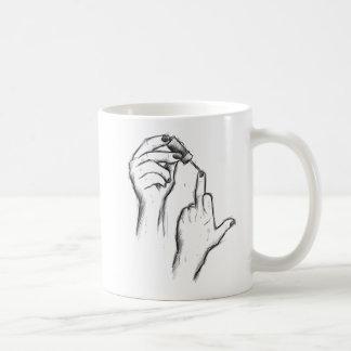 Hand Gesture Mug