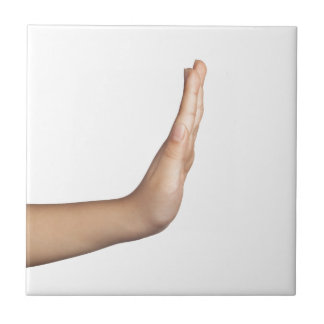Hand gesture - Stop Tiles