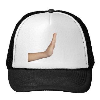 Hand gesture - Stop Trucker Hat