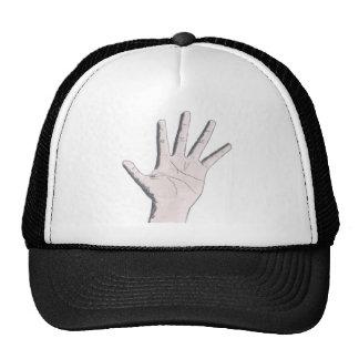 Hand Graphic Trucker Hat