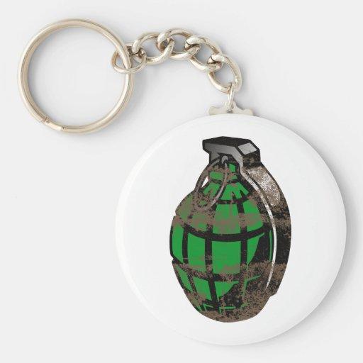 Hand Grenade Keychain