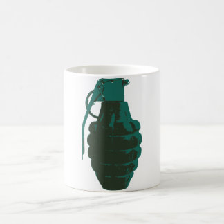 Hand Grenade War Military Bomb Army Marines Coffee Mug