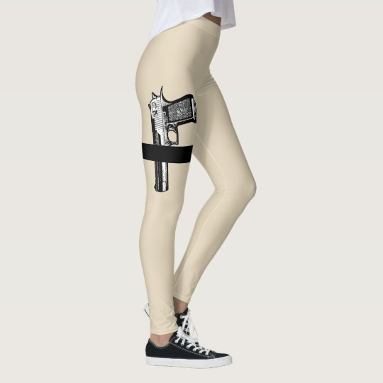 Hand Gun Packing Leggings
