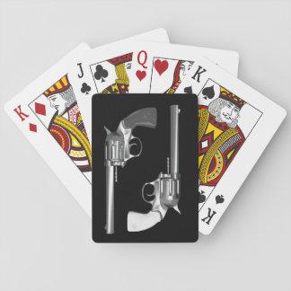 Hand Gun Playing Cards