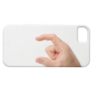 Hand Holding, Empty iPhone 5 Case