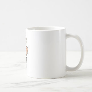 Hand holding money drawing mugs