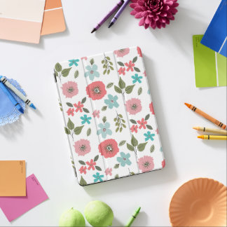 Hand Illustrated Floral Print iPad Air Cover