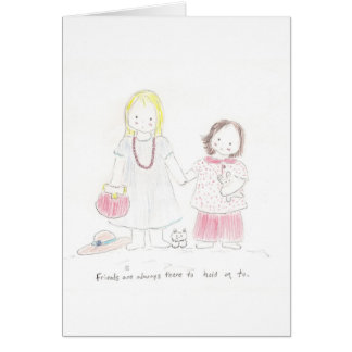 Hand in Hand Card