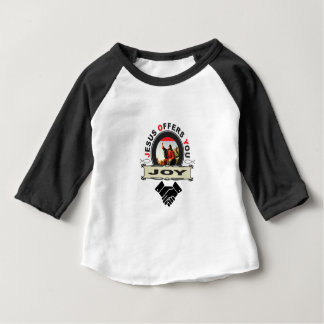 hand jesus joy baby T-Shirt