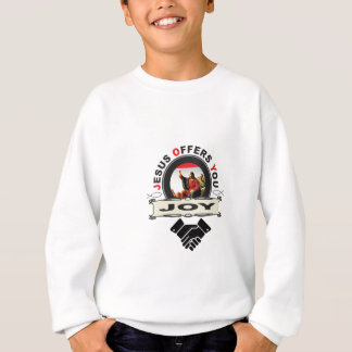 hand jesus joy sweatshirt
