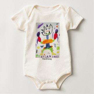 Hand KongOrganic Baby Bodysuit