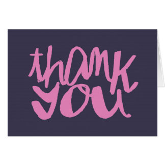 Hand Lettered Baby Shower Thank You Cards