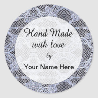 Hand Made With Love Sticker