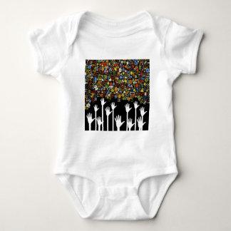 Hand medicine baby bodysuit