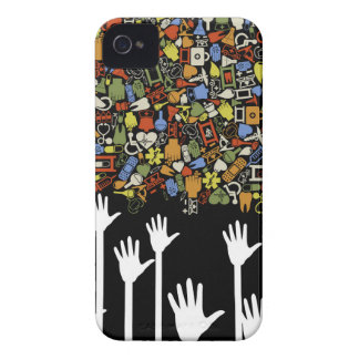 Hand medicine Case-Mate iPhone 4 cases