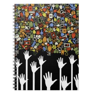 Hand medicine notebook