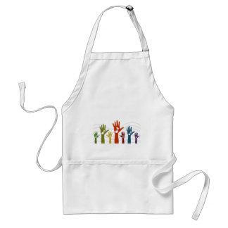 Hand music standard apron