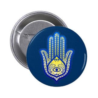 Hand of Fatima 2 Inch Round Button